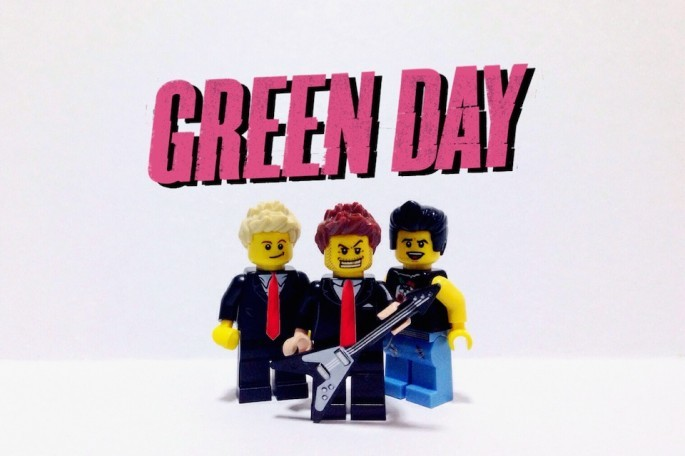 Green Day z Lego
