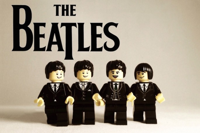 The Beatles z lego