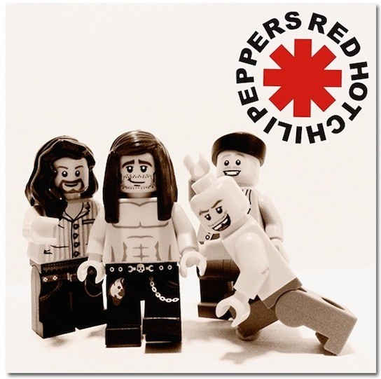 Red Hot Chili Peppers z Lego