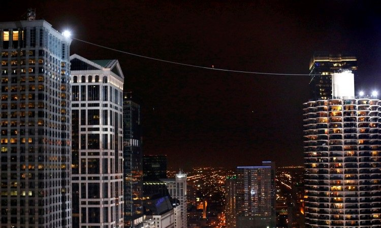 Nik Wallenda Chicago