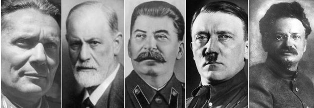 Hitler, Stalin, Trocki, Freud, Tito we Wiedniu