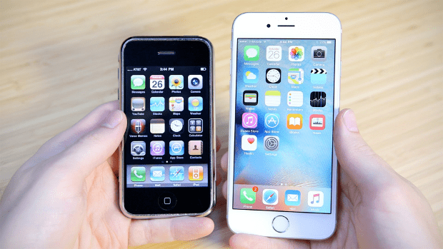 iPhone 6 vs iPhone 1