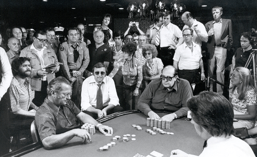 Doyle Brunson podczas Main Event WSOP 1976 rok
