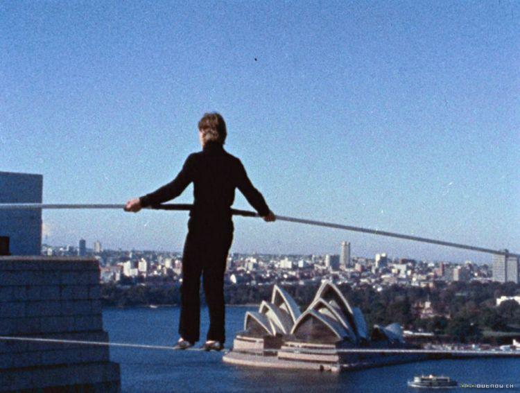 philippe petit Sydney Harbor Bridge